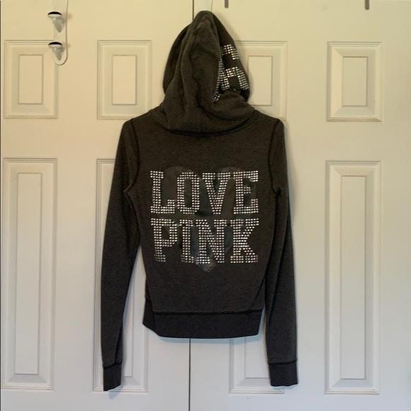 PINK Victoria's Secret Jackets & Blazers - Victoria's Secret Pink hoodie